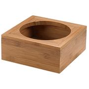 Bamboo stand for bowl