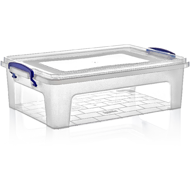 Rectangular food storage box with lid 10 litres