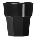 "Polycarbonate tumbler ""Premium Black"" 250ml"