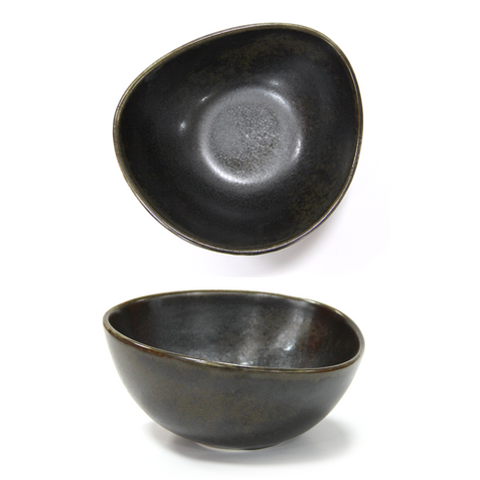 HORECANO Antique black Bowl 22cm | Pack of 3