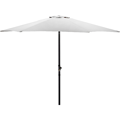 Market umbrella white 2.7m