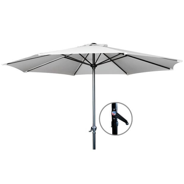 Market umbrella white 3m