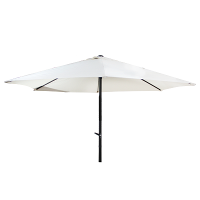 Market umbrella white 3.0m