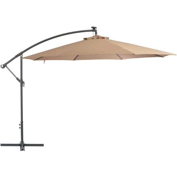Push up offset umbrella 3m