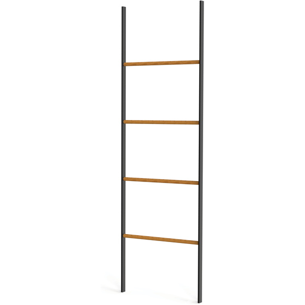 "Towel rack ""Ladder"" with bamboo rails 50cm"