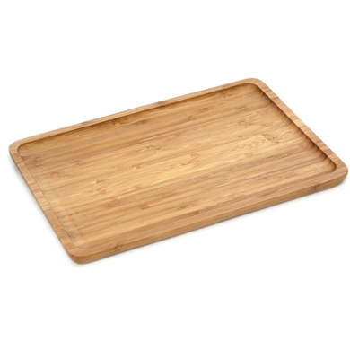 Bamboo serving board 30cm