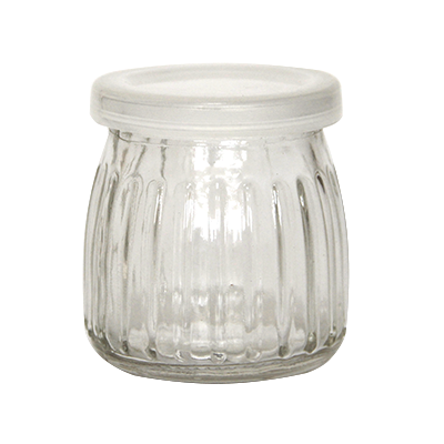Glass jar for desserts 150ml