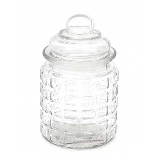Glass jar with lid 270ml