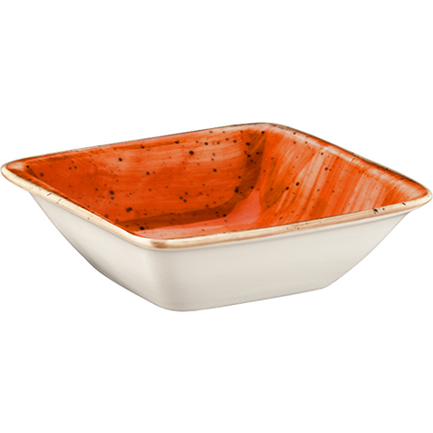 Terracotta Moove Deep Plate 19x17cm | Pack of 12