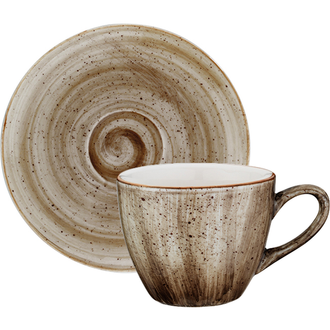 Terrain cup with saucer 70ml