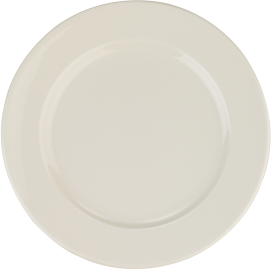 Banquet Flat Plate 25cm | Pack of 12