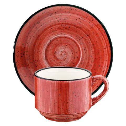 Passion cup with saucer 210ml