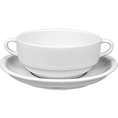 Consomme cup with handles 380ml