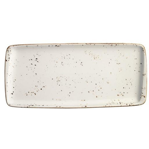 Grain Moove Rectangular Plate 34x16cm | Pack of 12
