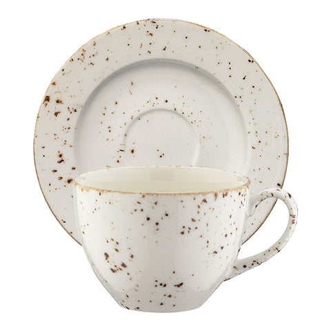 Grain cup with saucer 230ml | Pack of 6