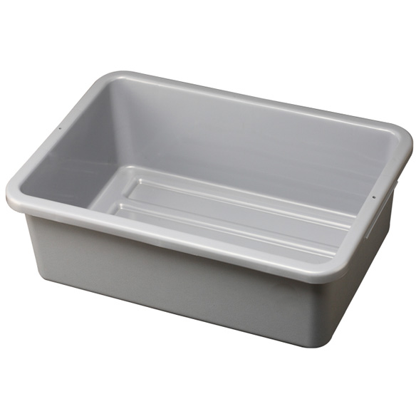 Dish box for service cart grey 53cm