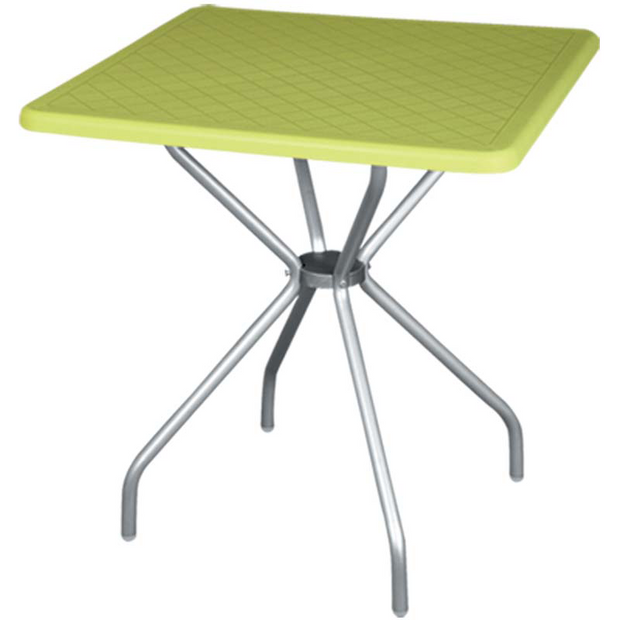 "Table ""ALPHA"" green 70cm"