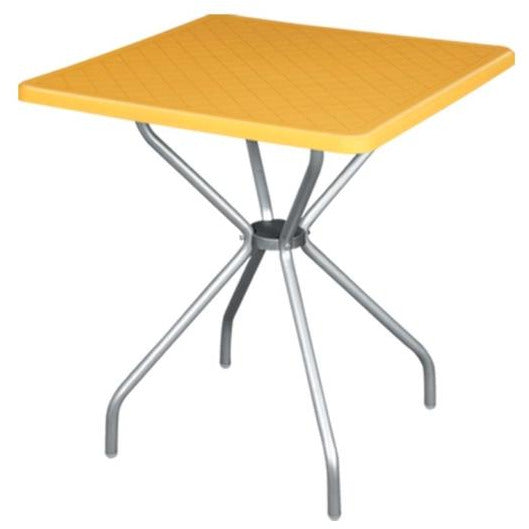 "Table ""ALPHA"" yellow 70cm"