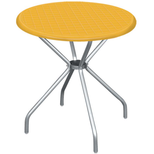 Table yellow 80cm