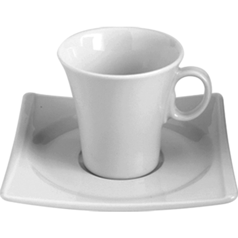 Cup with saucer 90ml