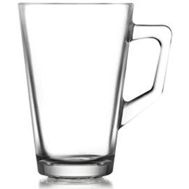 Glass mug for hot drinks 240ml