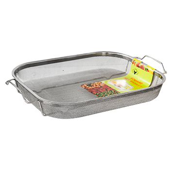 Rectangular shallow strainer 37cm