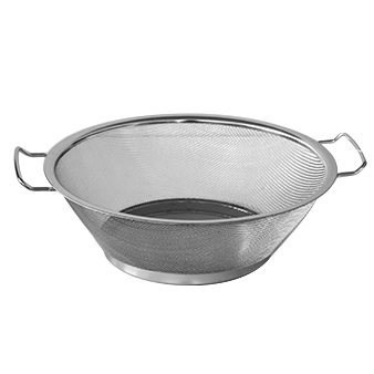 Round strainer with two handles 35cm