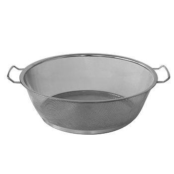 Round strainer with two handles 40cm