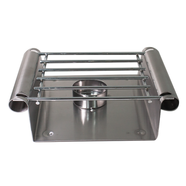 Heating stand with one burner