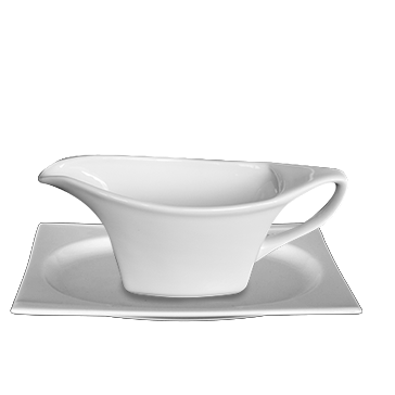 Sauce boat with saucer 300ml