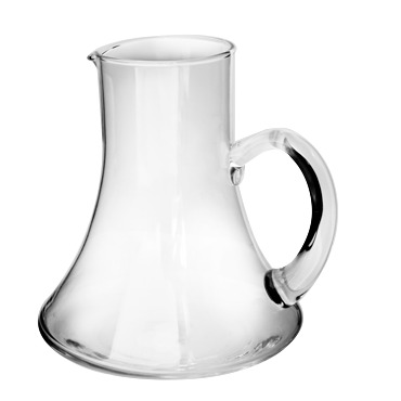 Glass carafe 950ml