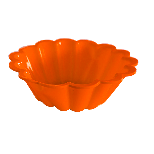 Silicone orange cake pan