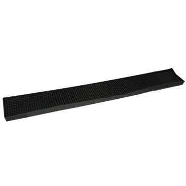 PVC bar mat black 59cm