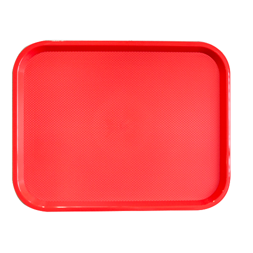 Serving tray red 41.5cm