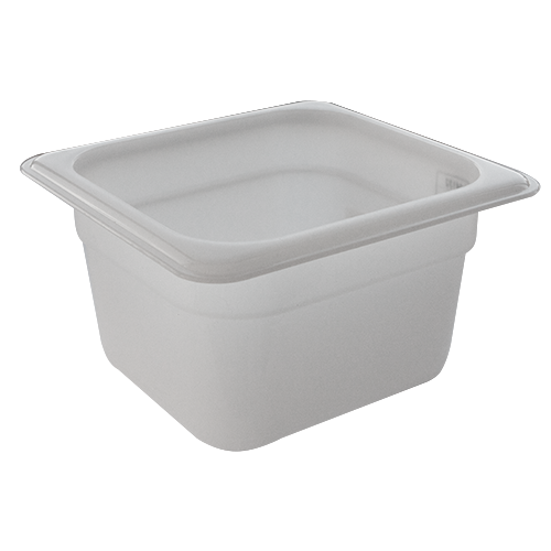GN Polypropylene container 1/6 height 65mm