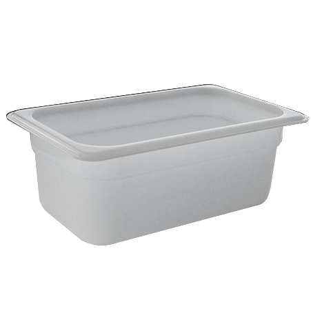 GN Polypropylene container 1/4 height 65mm
