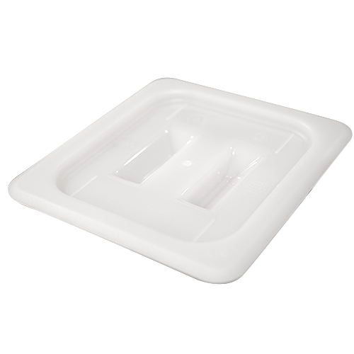 GN polypropylene lid with handle 1/6