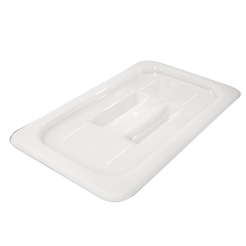 GN polypropylene lid with handle 1/4