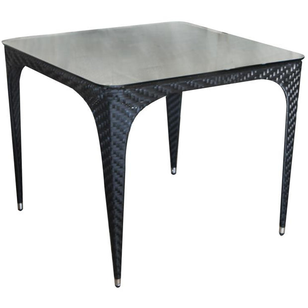 "Table ""COMO BLACK"" 90cm"