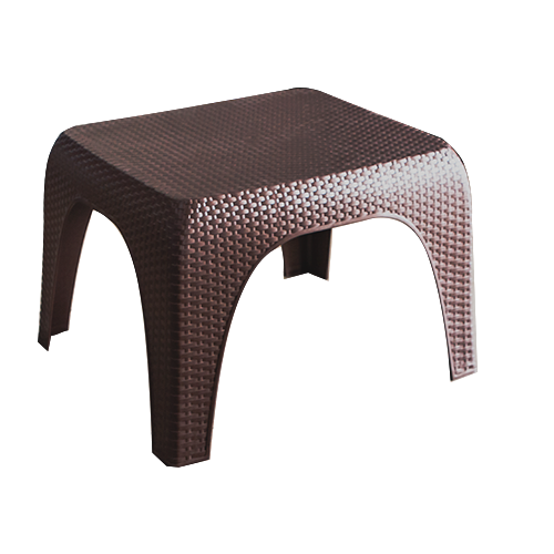 "Table ""MACA"" Rattan brown 60cm"