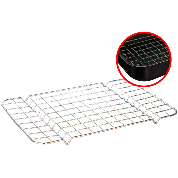 Rectangular grill for tray 32cm
