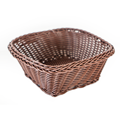 Square waterproof bread basket 17cm
