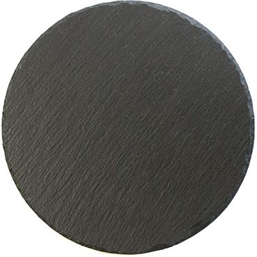 Round serving slate 25cm