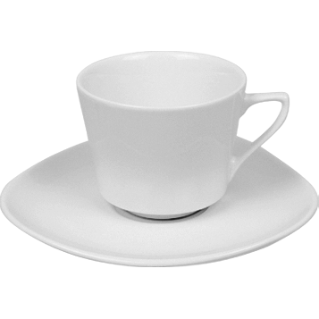 Cup with saucer 210ml