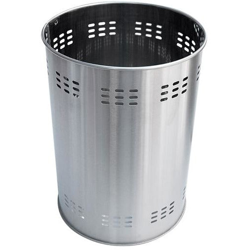 Round metal trash can 20.5cm