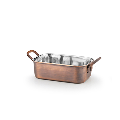 Mini rectangular sauce pan 350ml