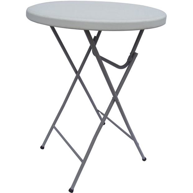 Round tall folding catering table 80cm
