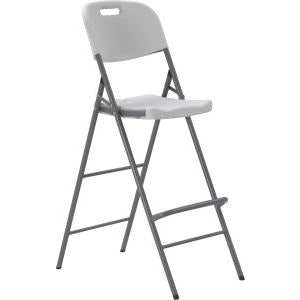 Tall folding catering chair 123cm