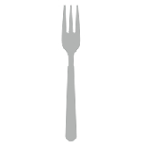 Fish fork stainless steel 18/10 2.5mm