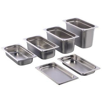 Stainless steel gastronorm container GN 1/3 height 20mm